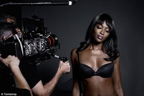 Naomi Campbell launches new underwear range