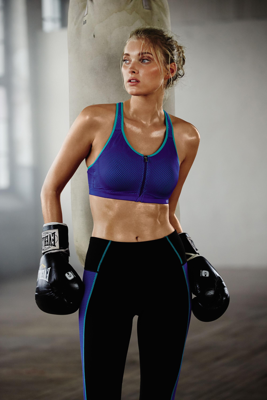 Elsa Hosk and Martha Hunt MODEL for VS sportswear  a13928e84fc