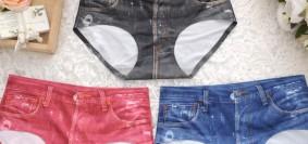 lacenlingerie_Shyle Black Denim Look Panty (3)