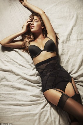 Nancy Ganz in Hot Black Fashionable Shapewear
