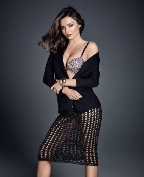 Miranda Kerr turns sexy secretary for Wonderbra campaign