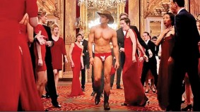 Ranveer singh in befikre wearing playboy Underwear