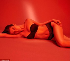 Bella Hadid is flawless in Calvin Klein Campaign