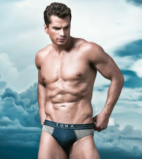A Male Modal Toned body Tuna Underwear