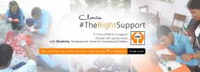 Clovia Supports NGO for Special Children