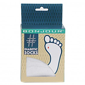 A Diabetic Socks for Diabeties Patient made by Bonjour