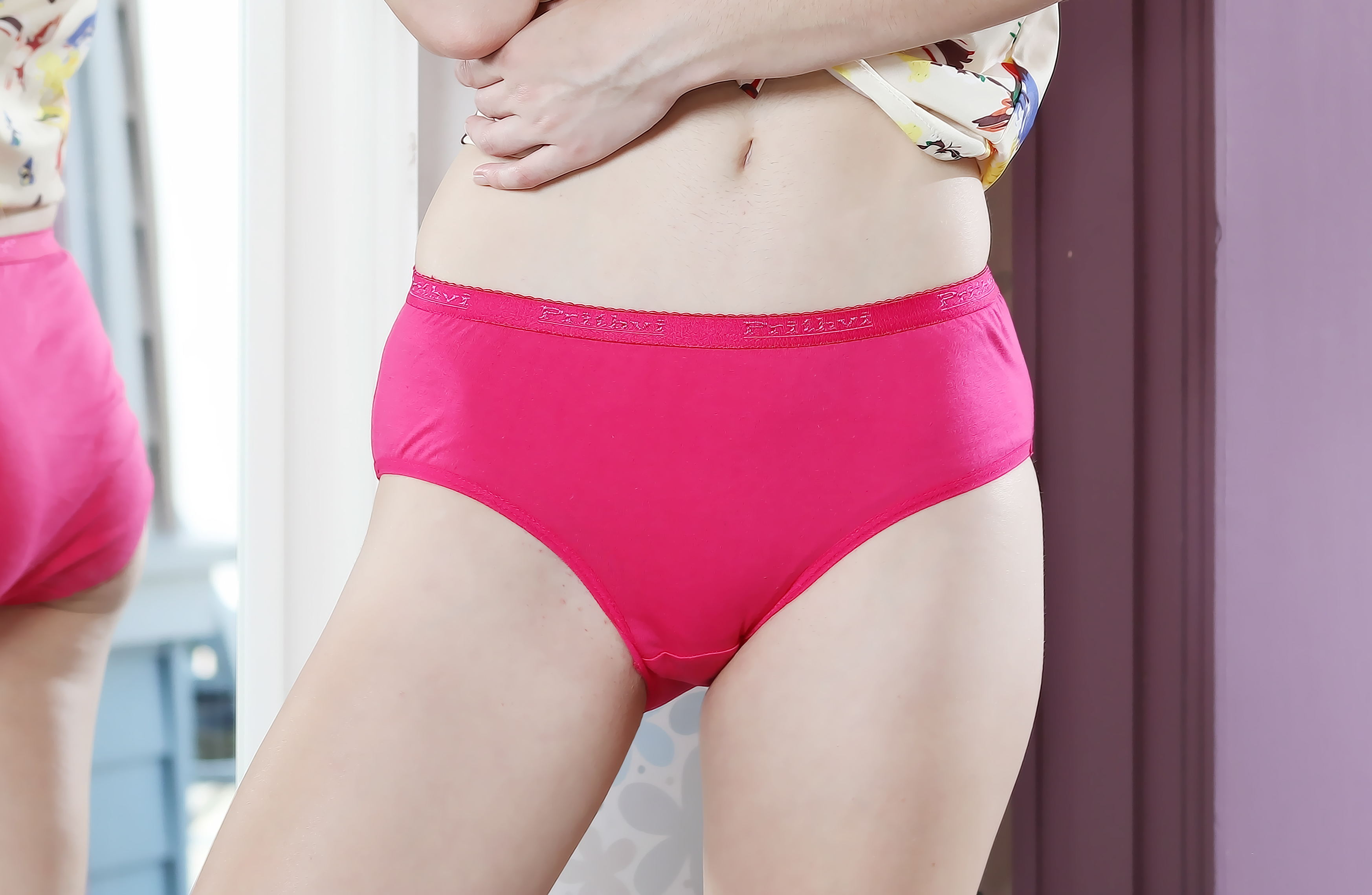 Dark Pink Panties for women