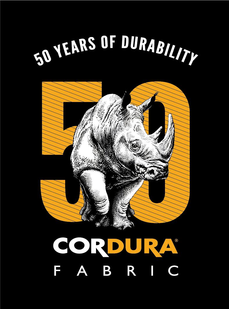 Cordura fabrics 50th anniversary