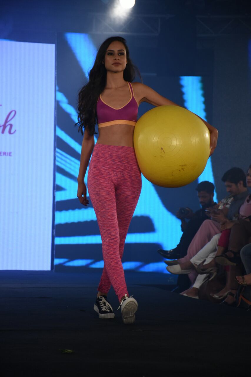 2fe0af352 lacenlingerie Stunning models walked the ramp for the Triumph fashion show  at India Intimate Fashion Week 2017