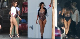 Eva Longoria busty look beach body look