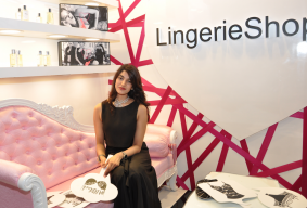 New Lingerie Shop Opened by Radhika Goenka