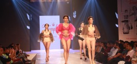 Stunning models walked the ramp unveiling Triumph's new Triaction brand at the 9th Annual Fashion Show
