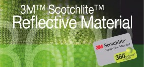 Athletic apparel designers 3M scotchlite reflective material
