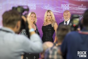 Rock my Swim Show Special Apperance by Pamela Anderson in Paris