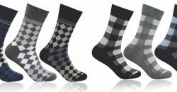 supersox boys , checks socks