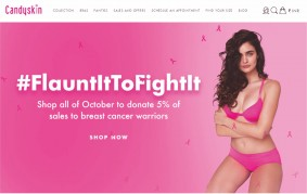 candyskin breast cancer awareness campaign