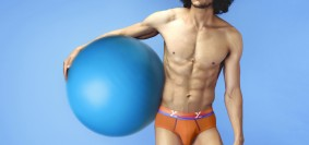A male model in xyxx comfortable stylish innerwer by xyxx