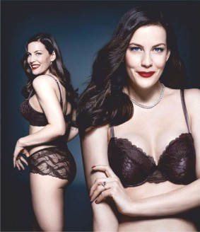 julianne moore & liv tyler sizzle during lingerie campaign
