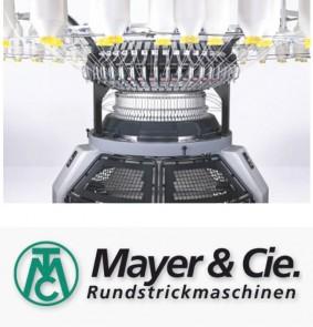 Mayer & Cie Rundstrickmashinen