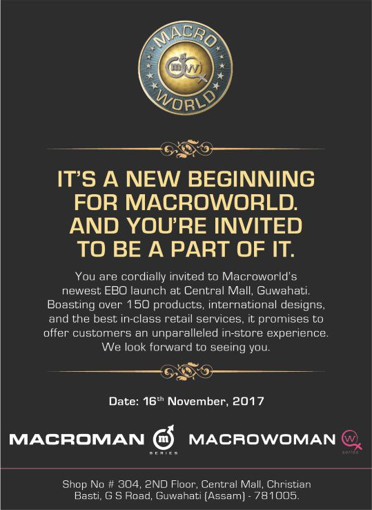 New EBO Launched in Guwahati, Macroworld