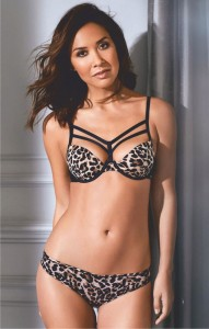 Showing off her wild side Myleene Klass models her new lingerie collection for Littlewoods  - 2