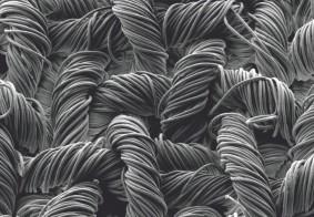 Teijin frontier pioneers premium black fabric