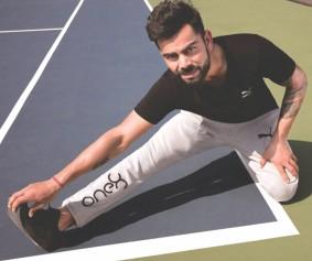 Virat Kohli debuts athleisure brand -1
