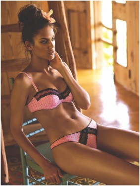 Andres Sarda SS18_pink lace bra pantis