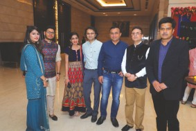 Holi celebration with