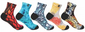 Females who celebrate Colours | Designer Socks | Socks Collection