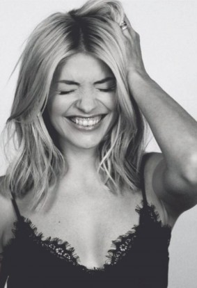 Holly Willoughby sizzles in sexy lingerie ahead of the launch of her lifestyle label- 1