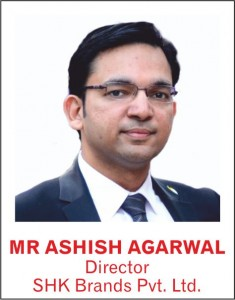 MR ASHISH AGARWAL - Director - SHK Brands Pvt. ltd.