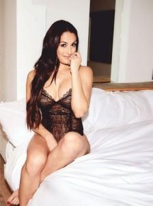 Nicki Bella rocks it in black lace lingerie to celebrate Memorial Day- 2