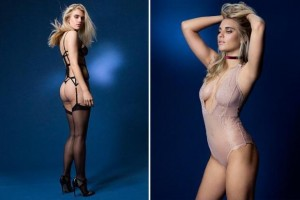 Roger Taylor daughter Tigerlilly sizzles in lingerie shoot