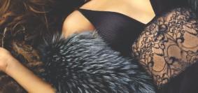 Black Embroidery Wraps