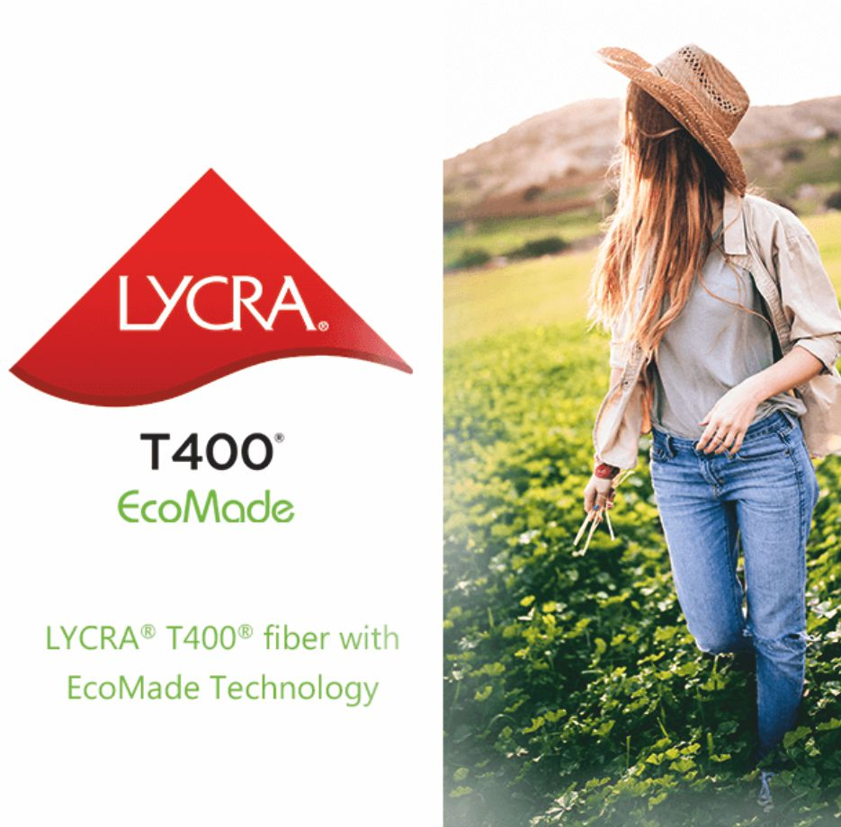 Lycra to showcase T400 fibre with ecomade technology