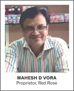 MAHESH D VORA - Proprietor - Red Rose