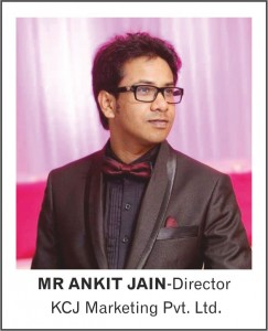 MR ANKIT JAIN-Director - KCJ Marketing Pvt. ltd