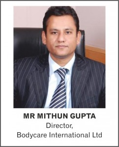 MR MITHUN GUPTA - Director - Bodycare International