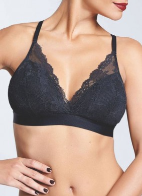 black lacy bra | stylish lingerie collection for monsoon|