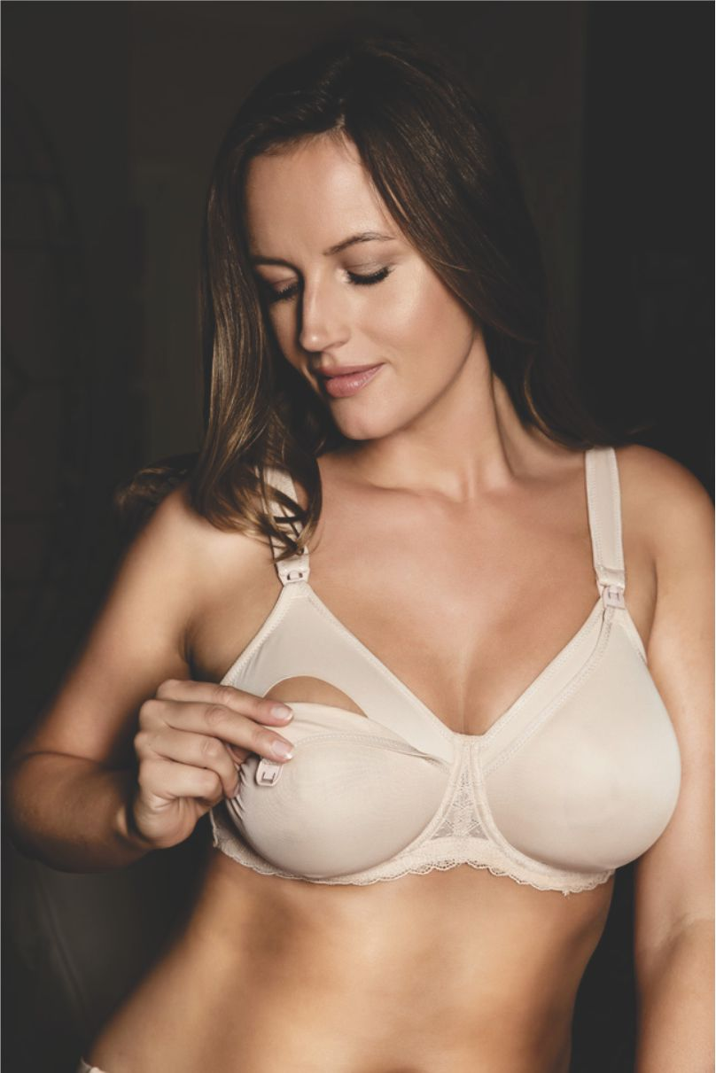 maternity bra | romantic hues begin underneath