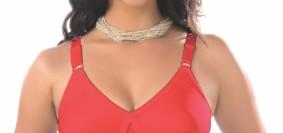 red bra by maiden beauty 'fantasy bra'