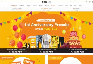 shein.in trendy affordable ecommerce store