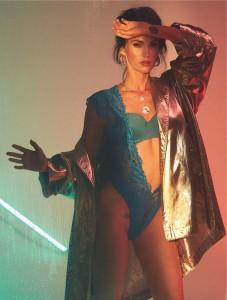 Hottie Megan Fox models for Frederick's of Hollywood lingerie - 1