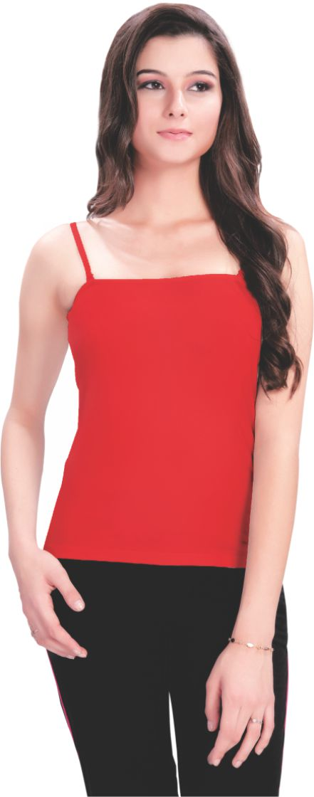 red camisoles for todays women