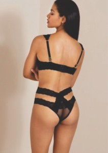Agent Provocateur stuns the fans with dominatrix-inspired lingerie set - 3