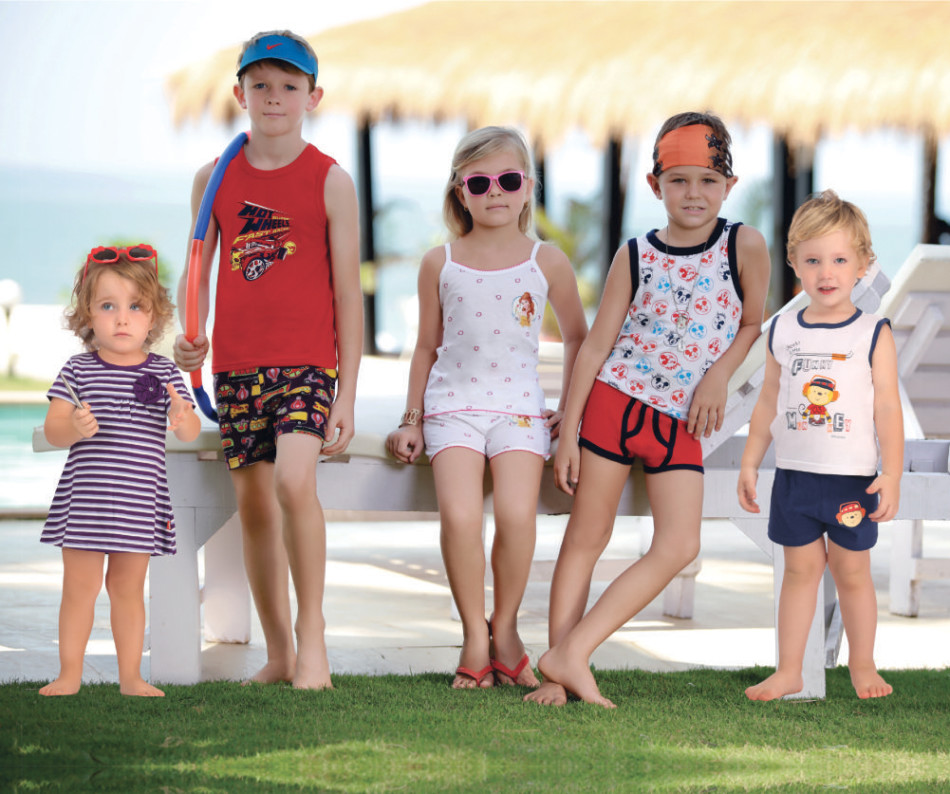 Soft Fun Apparels for children by bodycare kids