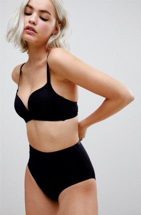 Black lingerie - Recycled black lingerie by asos