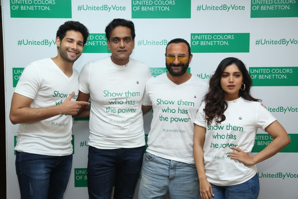 #unitedbyvote campaign by unied colors of benetton