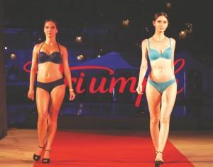 Triumph lingerie fashion show